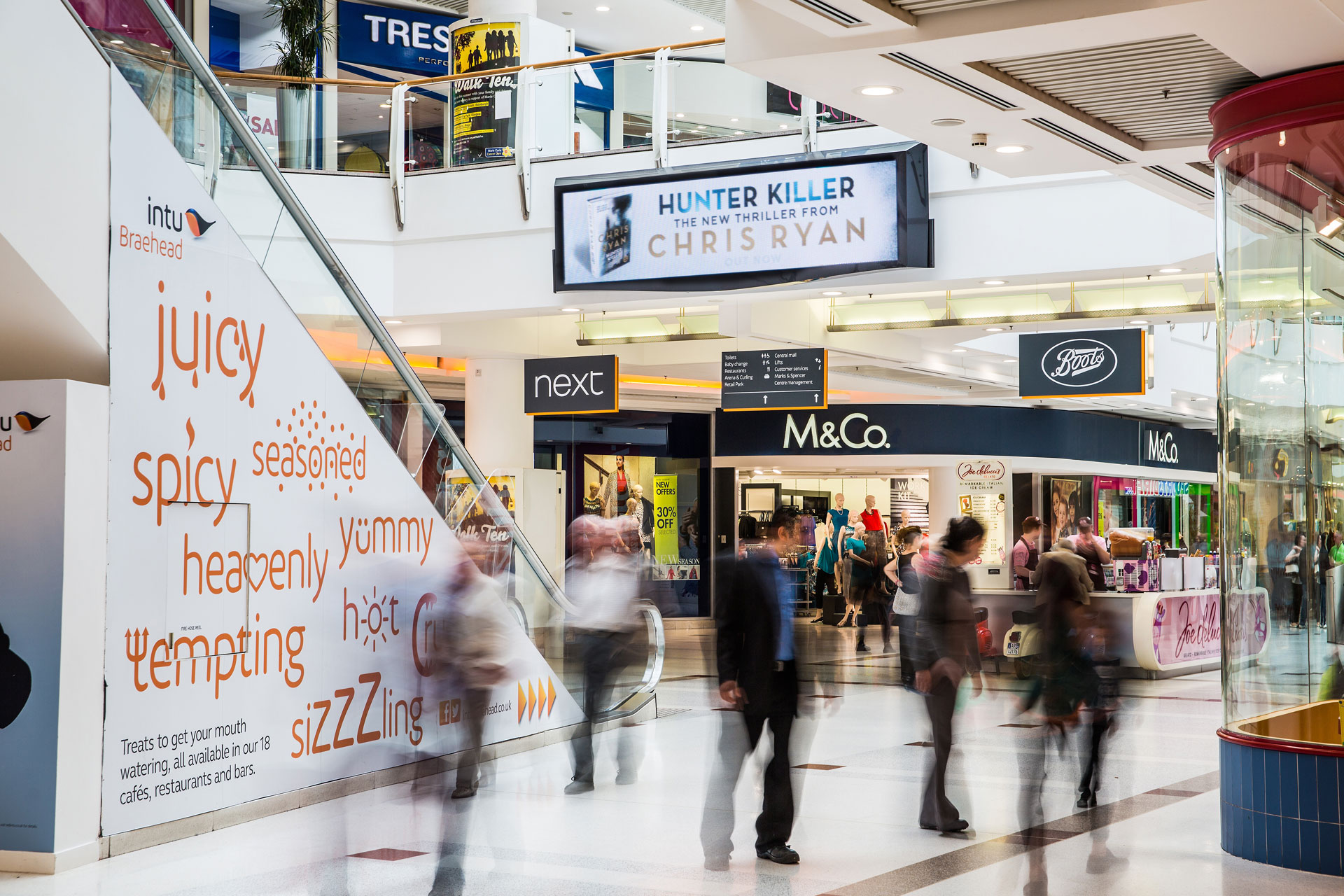 Braehead Shopping Centre Uniled Solutions